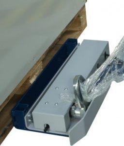 Filmeuse automatique TECHNOPLAT série 8 pince pour coincer film étirable