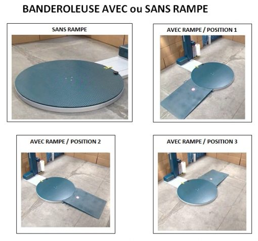 FILMEUSE ECOPLAT PLUS BASE option rampe