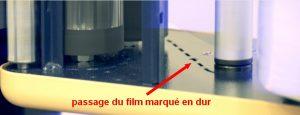 FILMEUSE ECOPLAT PLUS BASE passage film porte bobinepupitre