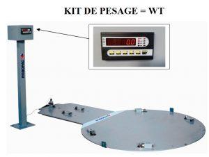 FILMEUSE ECOPLAT PLUS BASE option kit de pesage palette