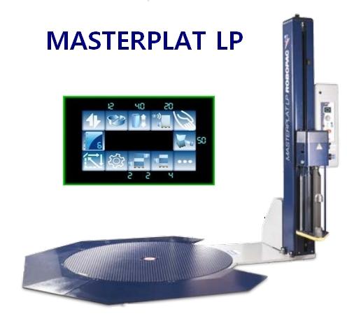 BANDEROLEUSE MASTERPLAT LP avec rampe à 270° + écran couleur
