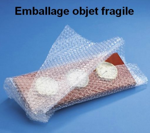 PAPIER BULLE PROTECTION diamètre 10 mm objet fragile