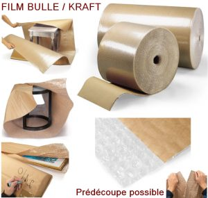 PAPIER BULLE PROTECTION papier kraft déménagement