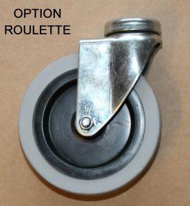 DEROULEUR FILM BULLE PEBD option roulette