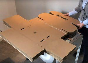 TABLE DE CERCLAGE ELECTRONIQUE boite carton