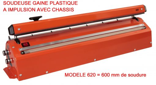 SOUDEUSE GAINE PLASTIQUE IMPULSION CHASSIS MODELE 620