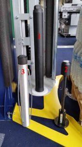 BANDEROLEUSE BRAS TOURNANT ECOWRAP XL + support bobine diamètres 50 71 76