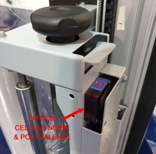 BANDEROLEUSE BRAS TOURNANT ECOWRAP XL + cellule noire polyvalente