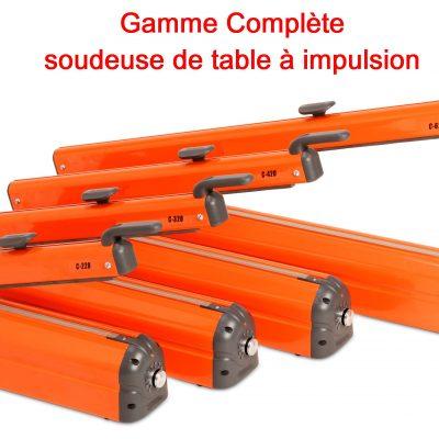 SOUDEUSE DE TABLE IMPULSION gamme standard