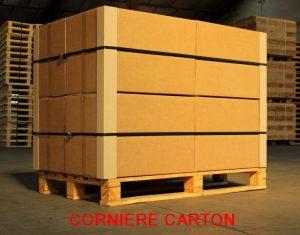 CORNIERE CARTON PROTECTION PALETTE