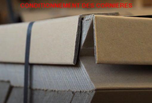 CORNIERE CARTON PROTECTION PALETTE complète