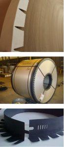 CORNIERE CARTON PROTECTION PALETTE pour bobine ou rouleau