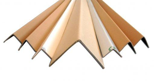 CORNIERE CARTON PROTECTION PALETTE gamme et forme aile