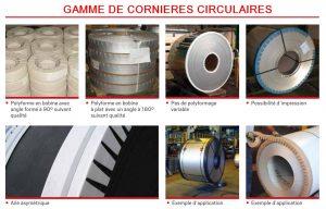 CORNIERE CARTON PROTECTION PALETTE gamme complète charge ronde